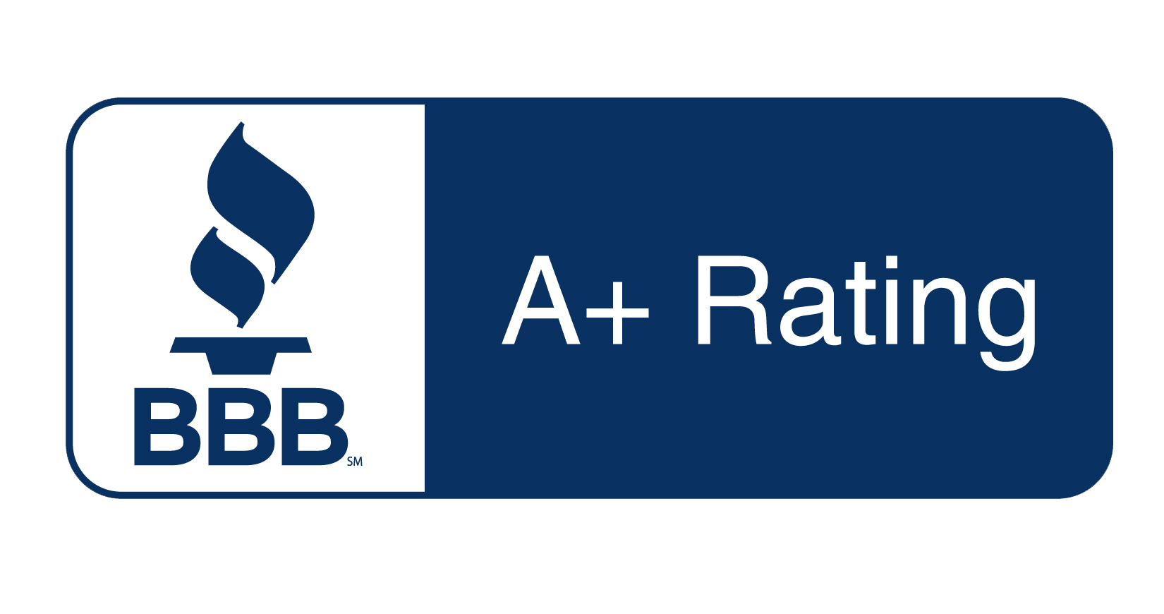 Better Business Bureau with A+ Rating